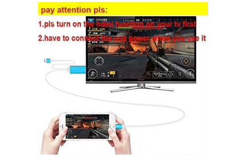 cable hdmi para iphone 5, 5s, 6 y 6 plus