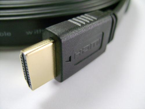 cable hdmi  (plano terminales dorados)  3metros