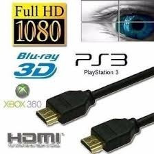 cable hdmi premium 5mts ps3 ps4 xbox pc 1080p 4k gamer