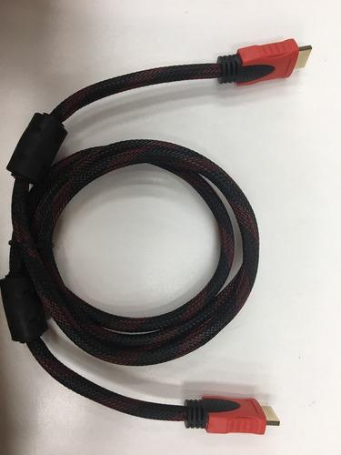 cable hdmi reforzado vga dvi hdtv usb 2.0 1,5 m cable
