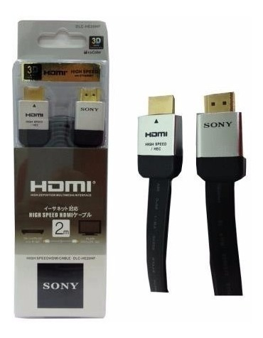 cable hdmi sony alta velocidad 1.5 mts 3d hd 4k ps3 ps4 xbox