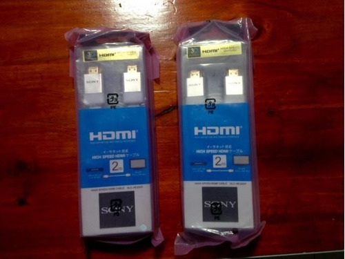 cable hdmi sony dlc-he20hf plano 2mts