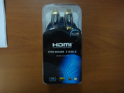 cable hdmi tipo bisagra v 1.4 1080 3d bluray ps4 blister 2 m