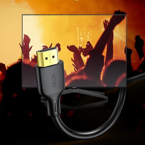 cable hdmi usams reforzado calidad 4k 60hz hdmi 2.0 1.8m