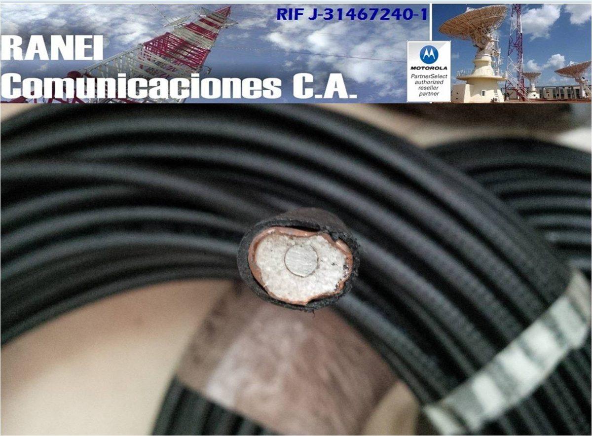 Cable heliax de 1 2 rigido andrew 50 ohms por metros bs for Espejo de 1 metro por 2 metros