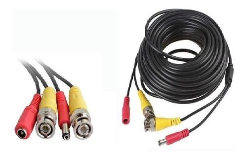 cable helicoidal video + alimentación armado 30 metros gralf