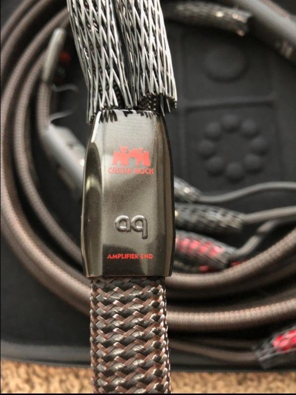 Cable Hi End Audioquest Rocket 88 / Castle Rock Solohifi - S/ 2 000,00