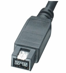 cable ieee 1394b 800 mbps firewire (i-link) 9 y 6 pines