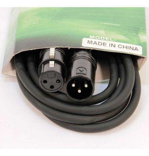 cable iluminación pls dmx  canon/canon 3 metros - cuotas