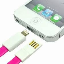 cable imantado en colores de carga y datos para iphone 5