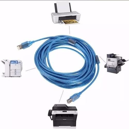 cable impresora usb a b macho 1.5m escaner mayoreo ele-gate