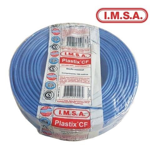 cable imsa  unipolar 1 x 2,5 celeste