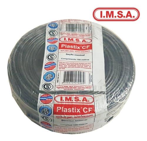 cable imsa  unipolar 1 x 2,5 negro
