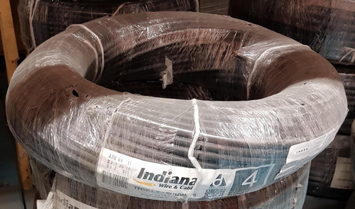 cable indiana thw calibre 4 (rollo c/100 mts).