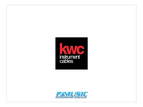 cable instrumento kwc iron 200 plug/plug 1 m - garantia