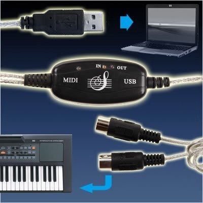 cable (interfaz) midi-usb