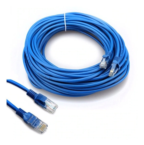 cable internet utp lan red cat 5e ethernet 10 20 30 metros