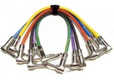 cable interpedal ficha metálica angulo kirlin 15cm ip6-243