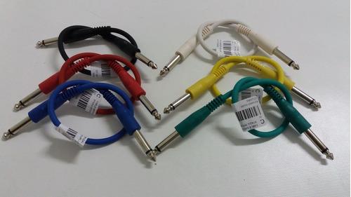 cable interpedal plug a plug stagg 0.30 cm corto spc030e