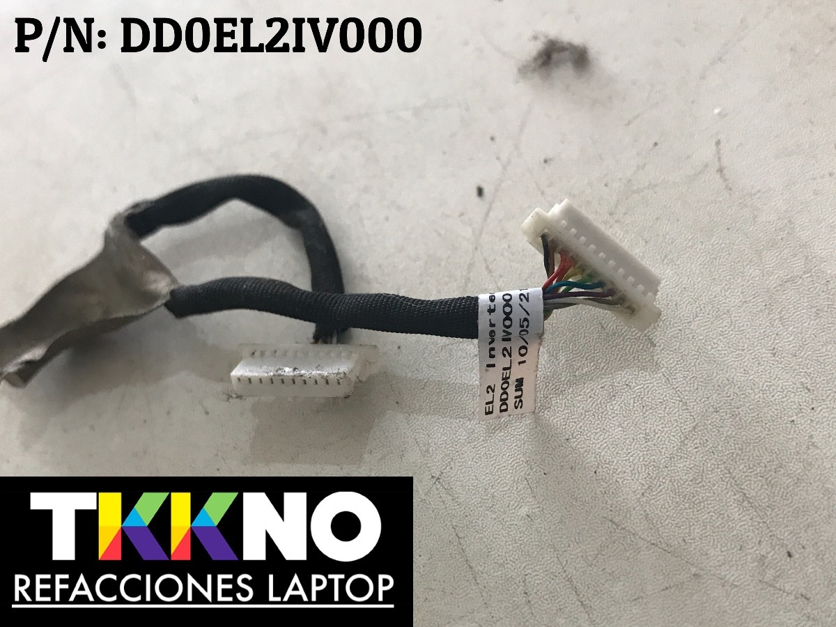 Cable Inverter Gateway Zx4300 M3700 P/n: Dd0el2iv000 - $ 189 00