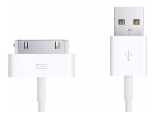 cable iphone 4s 4 usb datos ipad 1/2 ipod nano original oem