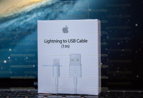 cable iphone 5 original (certificado)en caja sellada