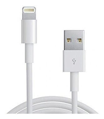 cable iphone 5s 6s 7 8usb data ipad certificado lightning 1m