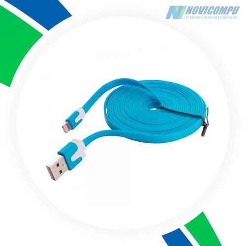 cable iphone 6, 5, 5c, 5s, ipad con garantia de 3 metros
