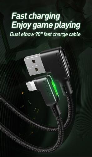 cable iphone lightning 1.2m 90º (nuevo diseño 3a) mcdodo