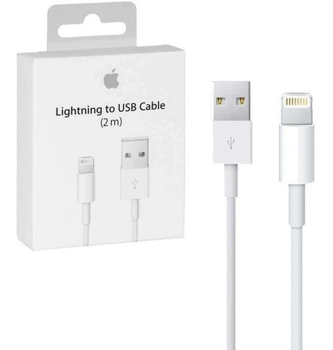 cable iphone lightning 2 mts 100% original