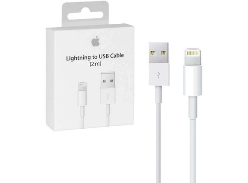 cable iphone lightning 2 mts 100% original - cellbox.cl