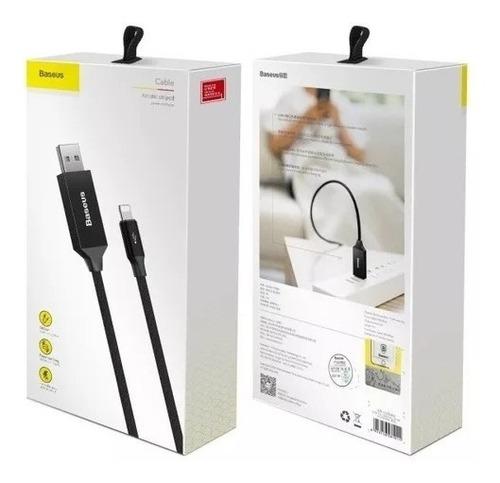 cable iphone usb lightning carga rapida 5 metros 6s 7 8 x xs