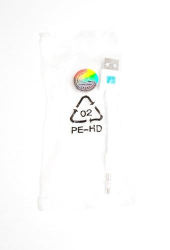 cable ipod shuffle 3 4 5 usb carga datos 10 cms certificado
