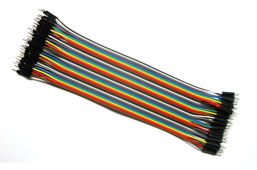 cable jumpers dupont macho-macho 20cm 40pzas