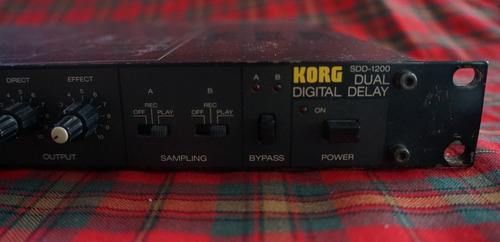 cable korg dual digital delay sdd-1200