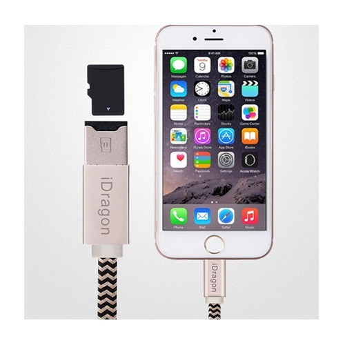 the latest 3f0de 1b29d Cable Lector Memoria Micro Sd iPhone 6 7 8 iPad Pro New Mini