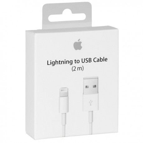 cable lighting de 2 metros para iphone,ipad sellado original