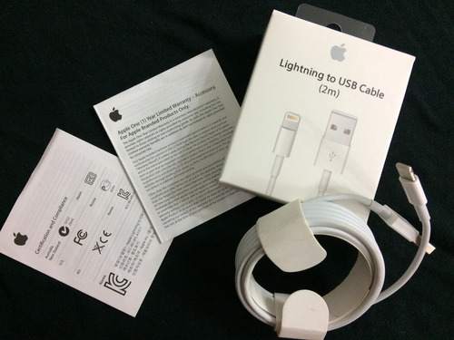 cable lightning 2m iphone   - en stock!!!!