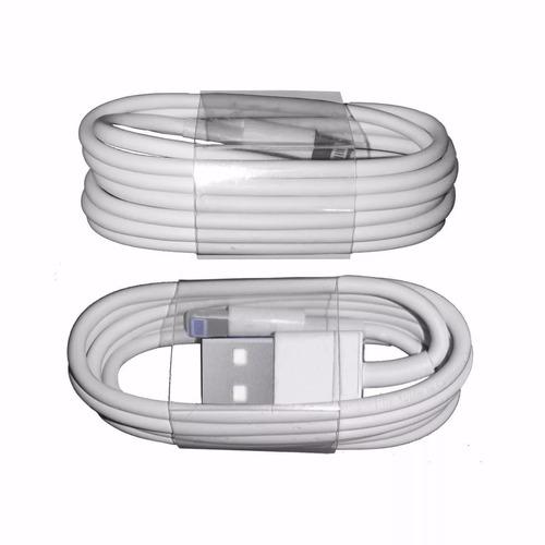 cable lightning generico iphone serie 5 y 6 ipad oem 1 metro