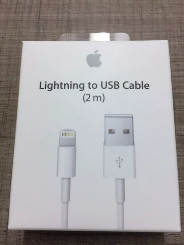 cable lightning original apple 2m iphone 5 6s 7 8 x ipad