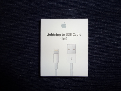 cable lightning original apple sellado iphone 6,6s,7,8, x