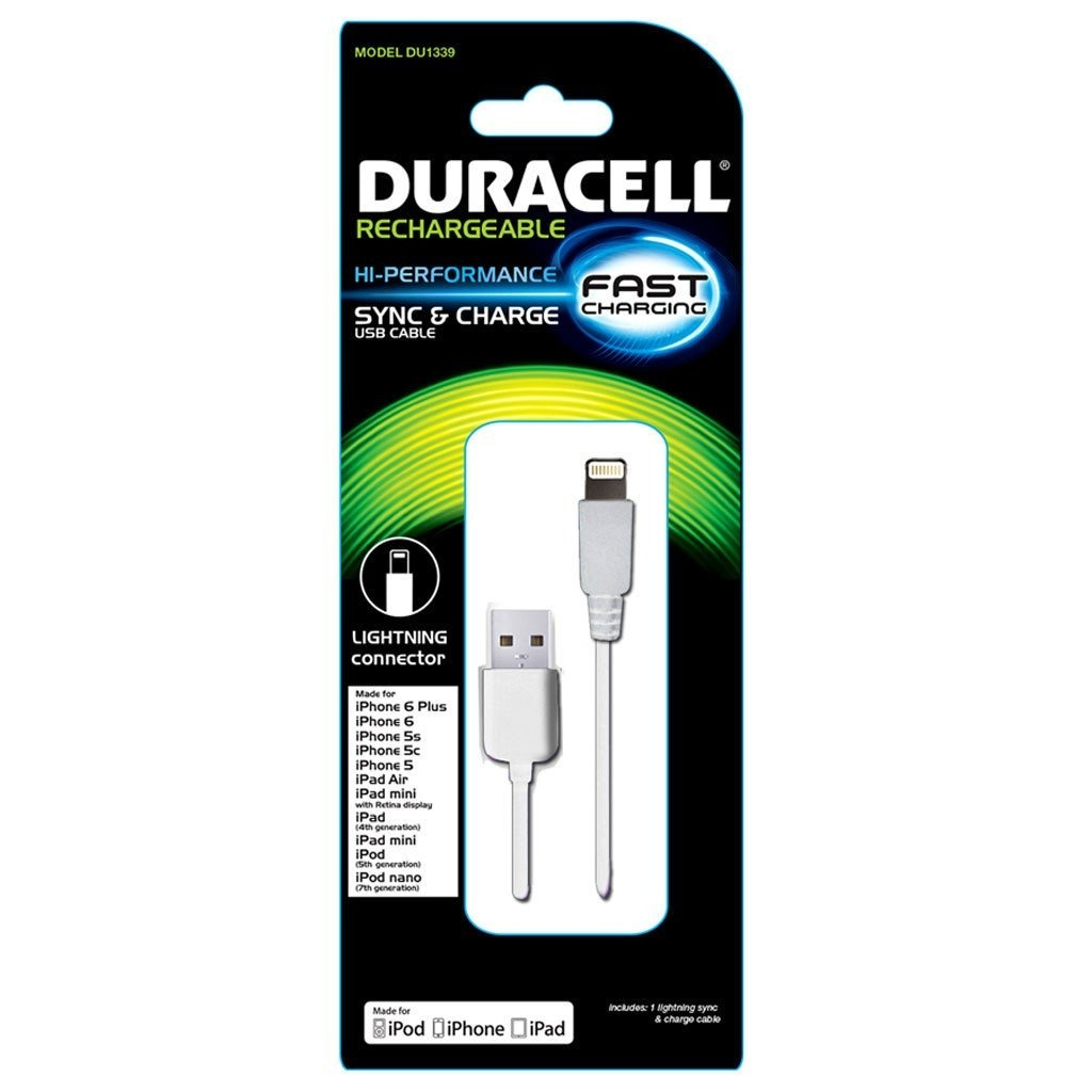 0e7f802b4b9 Cable Lightning Original Apple X, 8, 7, 6 Marca Duracell - S/ 39,00 ...