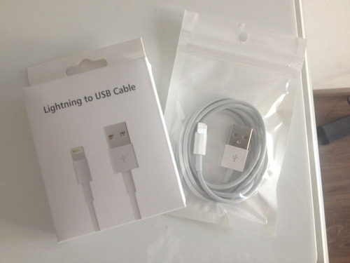 cable lightning para iphone 5 6 7 nuevo y sellado