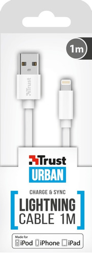 cable lightning trust flat 1 metro iphone ipad