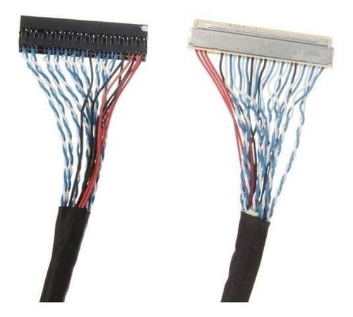 cable lvds para panel  de control lcd 5 cm fix-30p-s8 30
