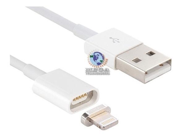 74acfa34904 Cable Magnetico iPhone 5 5s 6 6s Plus 7 Datos Y Carga - U$S 11,00 en  Mercado Libre