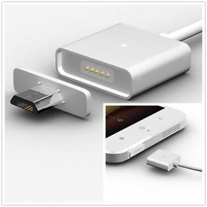 cable magnético lightning y micro usb iphone 5,6,7 - android