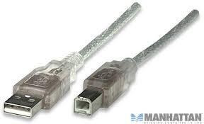 cable manhattan usb para impresoras 3 metros