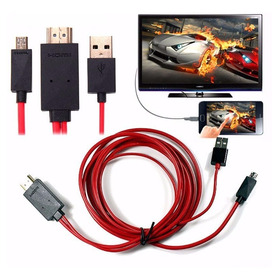 Cable Mhl Usb A Hdmi (ver Tu Celular En La Tv Como Smart Tv)
