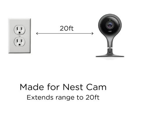 cable micro usb 6 metros - especialmente nest cam nestcam